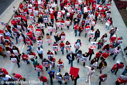 LAUSD Teachers Protest (1/29/2009)