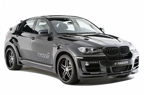hamann-bmw-x6-tycoon Front Right by Sachin Tomar's.