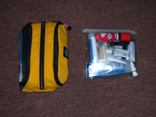 Toiletry kits