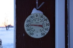 Again with the -30 Morning (BevKnits) Tags: morning ontario canada sunrise 30c dufferincounty melancthontownship