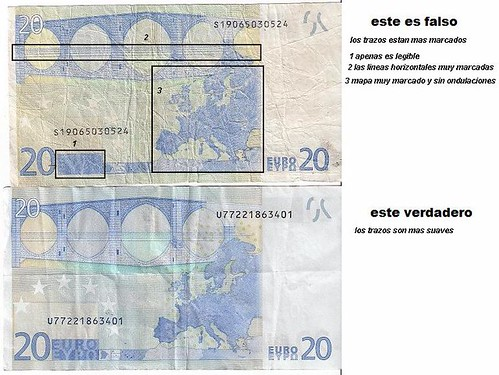 Billete Falso