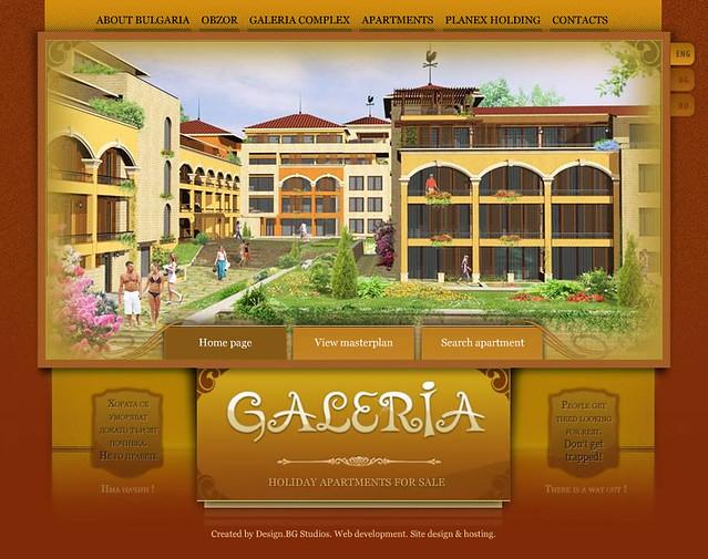 Galeria website by designbg by designbg