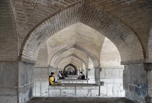 Кхаджу мост,Исфахан,Иран
