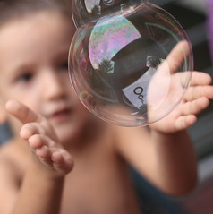 Soap Bubbles (paolomezzera) Tags: portrait children paul soap movement action bambini bubbles ritratto bolle sa