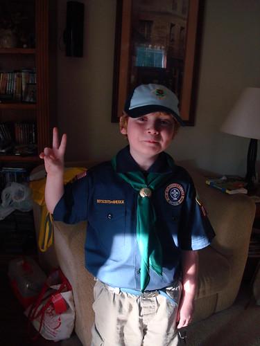 My Cub Scout!