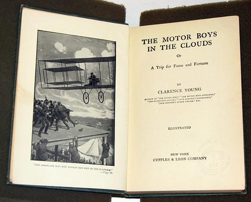 Motor boys frontispiece