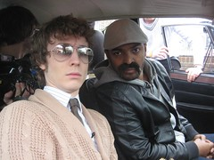 Matt Edmondson talks with Noel Clarke for Sony Ericsson's Pocket TV (Pocket TV) Tags: sonyericsson pockettv noelclarke mattedmondson