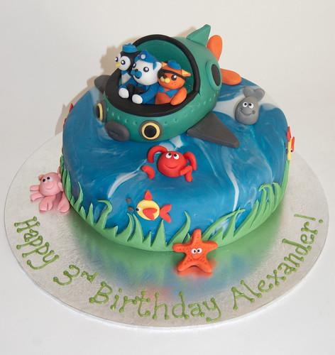Miraculous Octonauts Cake Beautiful Birthday Cakes Funny Birthday Cards Online Necthendildamsfinfo