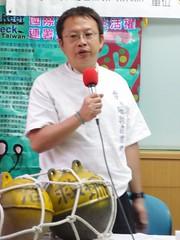 參加過6次體檢行動的資深潛水志工陳玄州