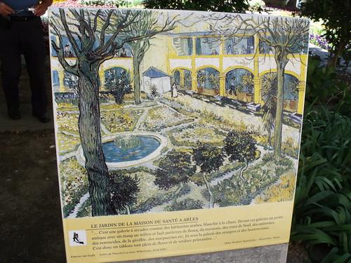 Espace Van Gogh - Arles - Le Jardin de la Maison de Sante a Arles