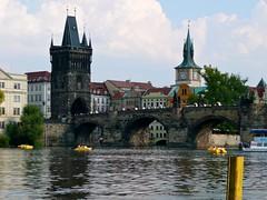 Praga - Karluv most (Ponte Carlo) (Alex_Alpha) Tags: nova europe prague praha praga ponte panasonic most carlo mala karluv strana repubblicaceca dmctz3
