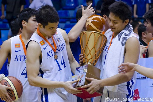 2011 FilOil Flying V Preseason Tournament: Ateneo Blue Eagles vs. San Beda Red Lions, June 12