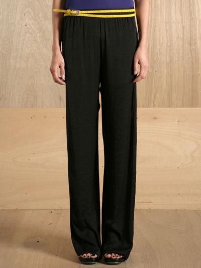www.ln-cc.com Haider Ackermann Women's MUSKAU BLACK PANT
