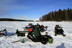 Waiting for the Pike (dean.franklin) Tags: alaska angel shelly denali pikefishing trapperlake