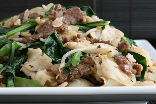 Beef and Broccoli Chow Fun