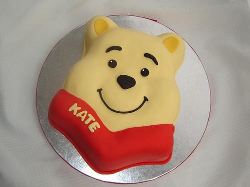 Winnie Face Cake
