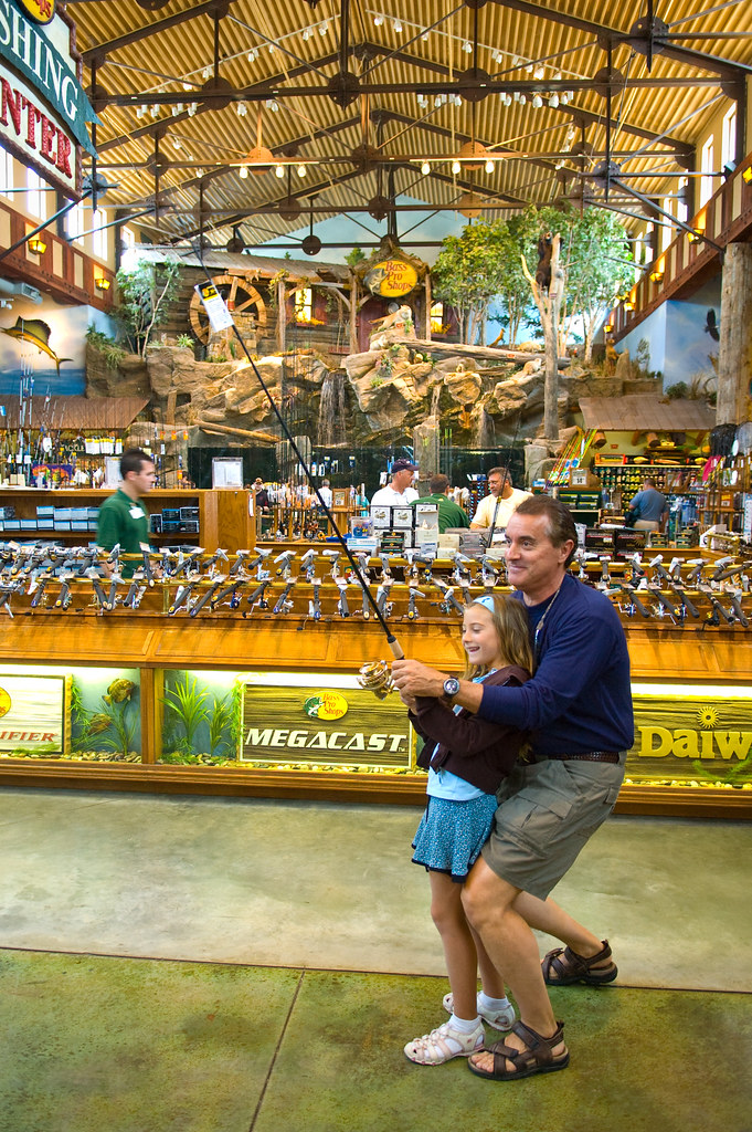Father & Daughter at Bass Pro Shops, Concord Mills