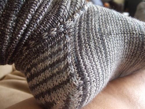 Spiraling Coriolis Socks (2)