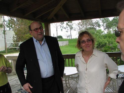 Peter Straub & Liz Hand