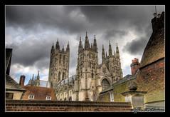 A peek at Canterbury Cathedral