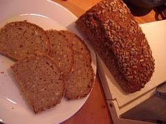 Zuurdesem zonnebloempittenbrood (7) (MaykeZ!) Tags: bread sourdough brood zuurdesem