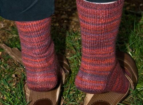 Berry Socks - Heel