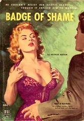Badge Of Shame (Biff Bang Pow) Tags: vintage retro paperback pulpfiction pulp digest