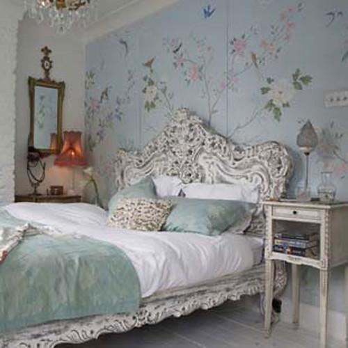 Wonderful Cozy Vintage Bedroom · Vintage Chic Style Bedroom · Vintage Glam Style