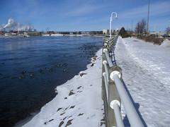 untitled (Canadian Mark) Tags: boardwalk saultstemarie stmaryspaper