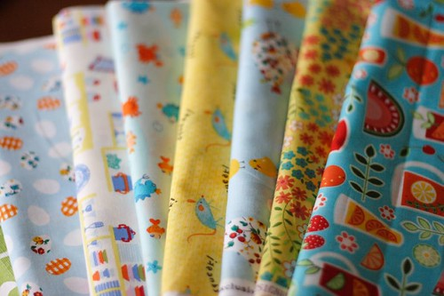 Crib bumper fabric