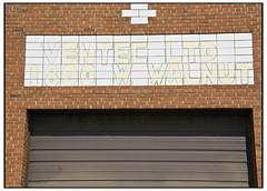 Half Assed (swanksalot) Tags: sign handmade w walnut faded 1800 ltd westloop ghostsign swanksalot sethanderson ventec