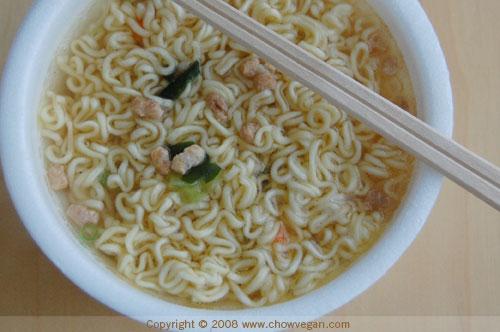Kung-Fu Vegetarian Flavor Ramen Review