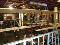 Wright Brothers Plane replica