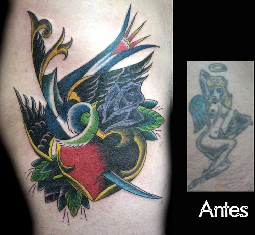 Tatuaje Cover Up tattoo Granada