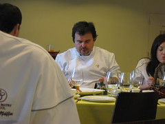 Pierre Hermé: Sitting across from my table