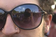 Sono nei tuoi occhiali (GerardKremer) Tags: sunglasses autoritratto occhiali riflesso selportrait alessio capaccioli
