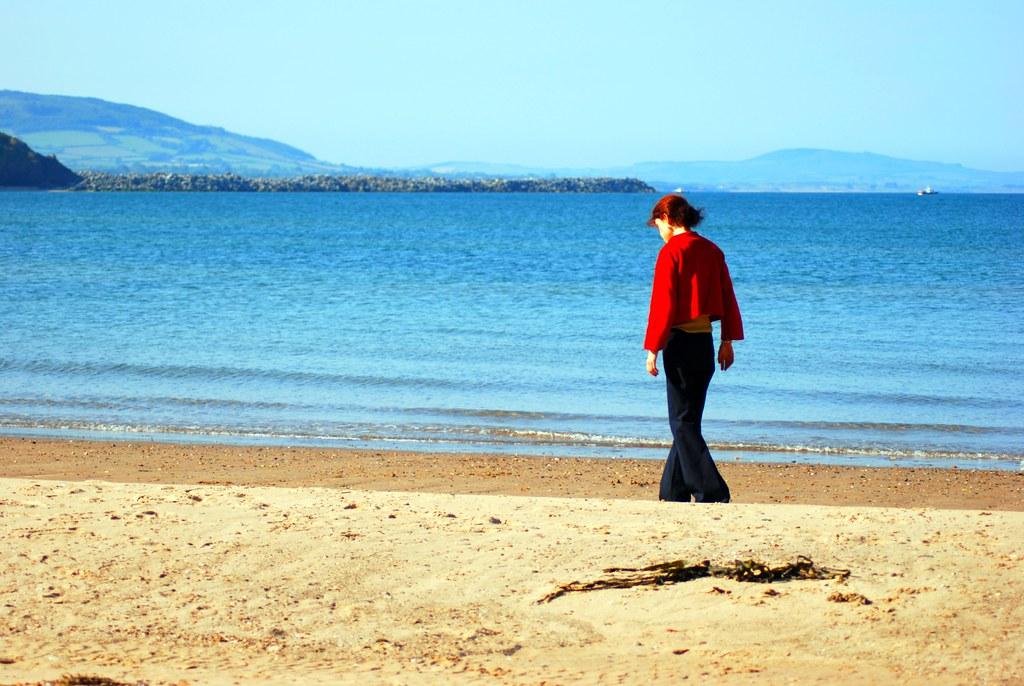 Clogga Strand, Arklow, Ireland