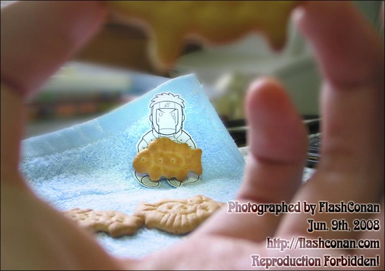 [大和队长捏系列八]LOLI情怀了……居然用动物饼干作道具= = - flashconan - F.C.定义域
