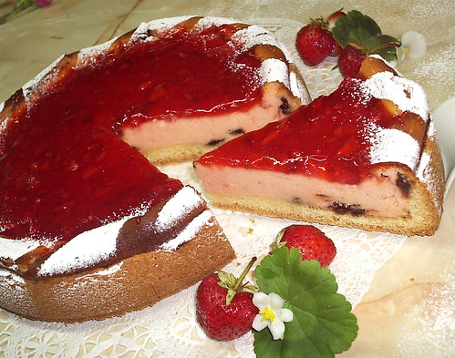 Strawberry Cheesecake by you.