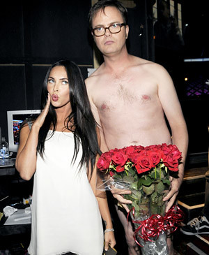 megan fox y rainn wilson Mtv movie 2008
