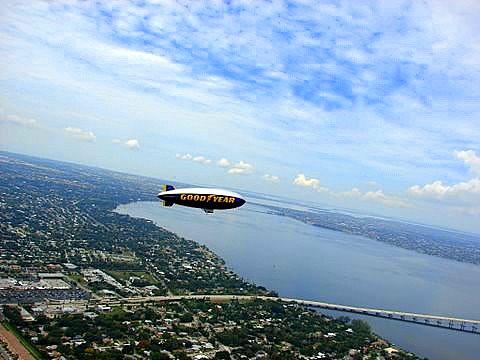 Goodyear Blimp - Ft. Myers, Florida