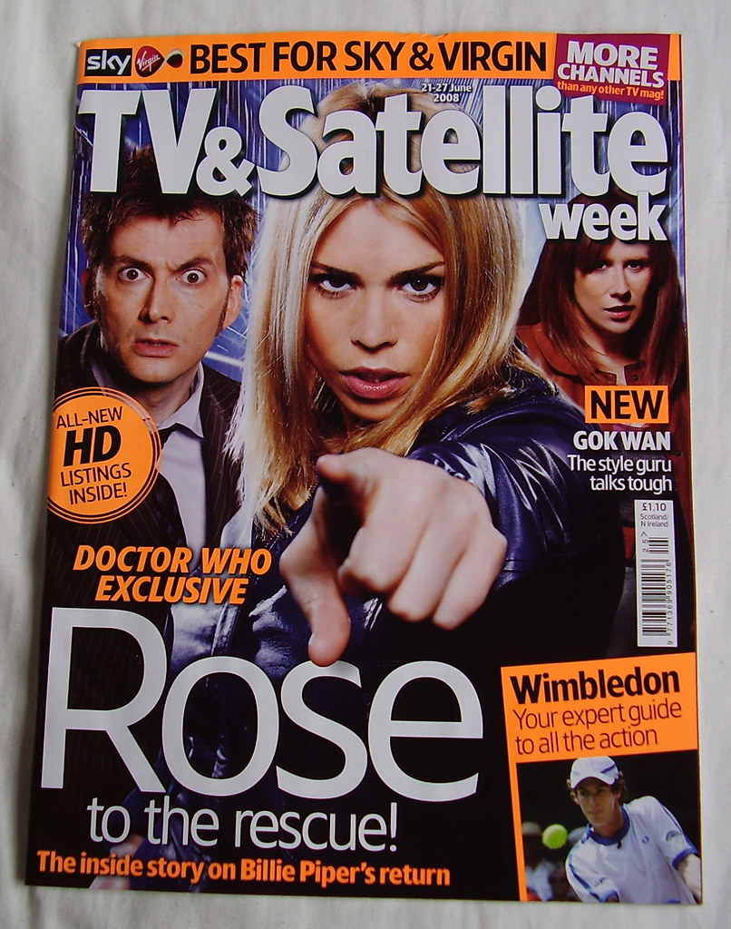 TV & SATELLITE WEEK - Cover