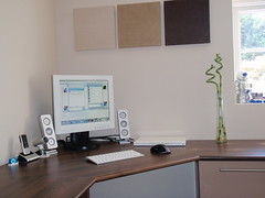 Macbook Setup new desk full shot (js1stuff) Tags: new windows plant apple nature nokia bill dock mac keyboard aluminum ipod geek tech display desk jobs gates tiger steve os x monitor leopard dell revolution stuff microsoft xp vista wireless setup isight bluetooth vga mx speakers  logitech clamshell firewire dvi 6300 macbook z4i