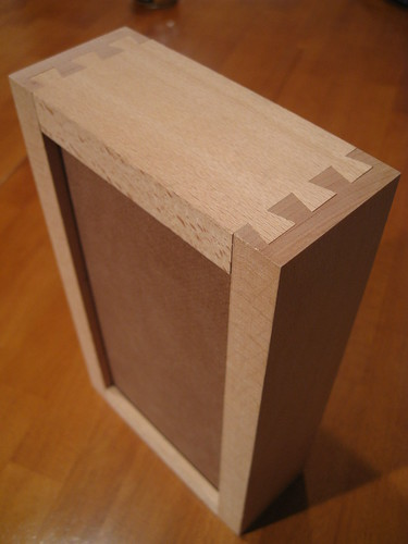 Euro beech dovetail box