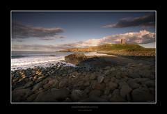 DUNSTANBURGH CASTLE (Steve Boote..) Tags: sea england castle coast rocks north east northumberland northumbria coastline aficionados dunstanburgh sigma1020 abigfave platinumphoto theperfectphotographer goldstaraward samsunggx20
