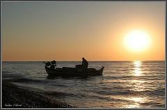 Kamari Beach (Yoschke) Tags: travel nature june canon 350d greece 2008 santorin waterscape naturesfinest 17404l aplusphoto fiveflickrfavs