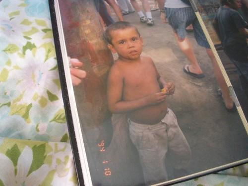 little boy forgotten