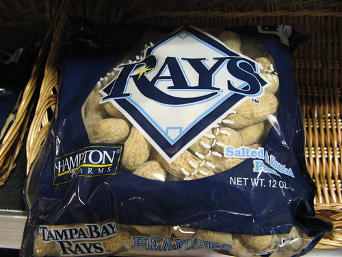Tampa Bay Rays peanuts for sale at Publix