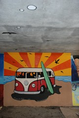 DSC_0776 (Kurt Christensen) Tags: art beach painting mural surf thrust gilgobeach gilgo