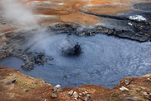 Hverir geothermal site
